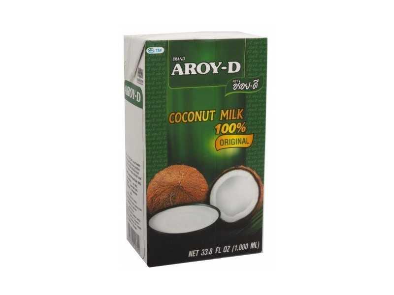 Mleko Kokosowe Aroy D 1l Bez Konserwantów
