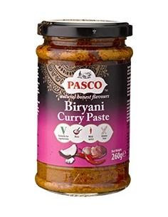 Biryani, pasta curry 260g PASCO