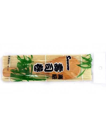 Mata do sushi + łyżką do mieszania ryżu gratis!