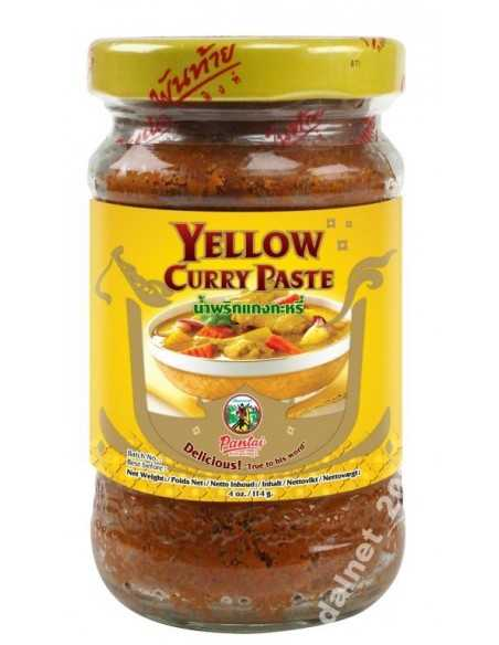 Pasta curry ŻÓŁTA 114g Pantai
