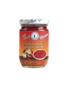 Pasta chili z czosnkiem w oleju 227g