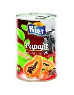 Papaja kawałki w lekkim syropie 425g