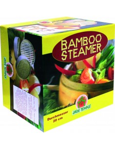 Parowar bambusowy do gotowania na parze 25cm