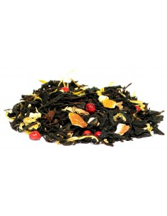 herbata czarna imbirowo pomarańczowa