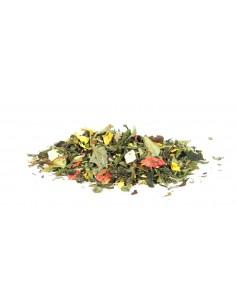 Herbata zielona aromatyzowana Siedem Zielonych Skarbów