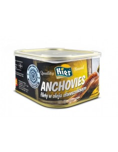 Filety anchovies