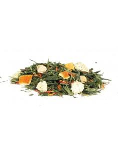 Herbata zielona żeńszeń z pomarańczą