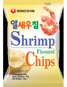 chipsy krewetkowe