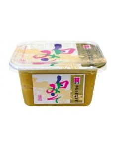 Pasta miso shiro, jasna 300g Japonia