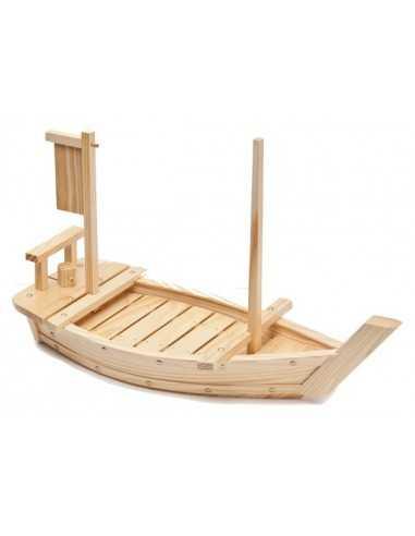 Łódka do sushi z drewna 60cm